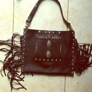Leather handmade purse